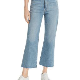 Levi's                                                        Rib Cage Crop Flare Jeans in Scapegoat | Bloomingdale's (US)