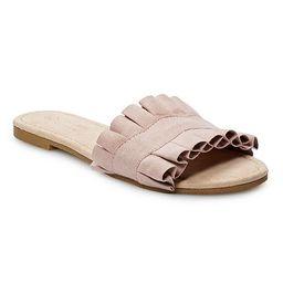LC Lauren Conrad Joliet Women's Slide Sandals | Kohl's