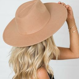 For Next Time Camel Hat | The Pink Lily Boutique