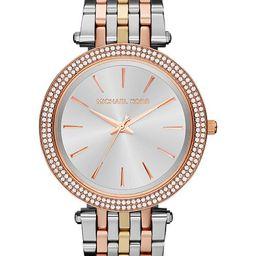 Michael Kors Women's Darci Tri-Tone Stainless Steel Bracelet Watch 39mm MK3203 & Reviews - Watche...   Macys (US)