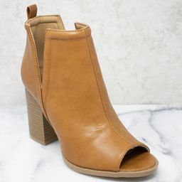 The Beth Brown Booties | The Pink Lily Boutique