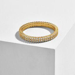 Alveo 18K Gold Vermeil Stacking Ring | BaubleBar (US)
