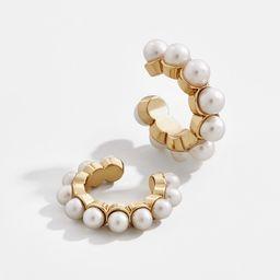 Clasina Pearl Ear Cuff Set | BaubleBar (US)