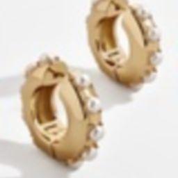 Claire Huggie Hoop Earrings | BaubleBar (US)