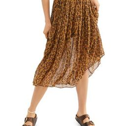 Free People                                                        Lydia Leopard-Print Skirt   Bloomingdale's (US)