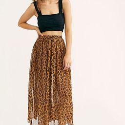 Lydia Maxi Skirt   Free People (US)
