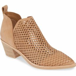 Sher Perforated Bootie | Nordstrom