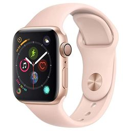 AppleWatch Series4 (GPS, 40mm) - Gold Aluminium Case with Pink Sand Sport Band | Amazon (US)