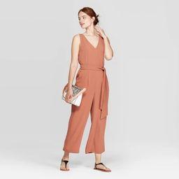 Women's Sleeveless V-Neck Jumpsuit - A New Day™ | Target
