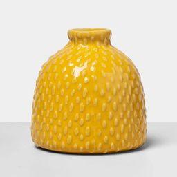 """4.2"""" x 4"""" Decorative Stoneware Bud Vase - Opalhouse™   Target"""