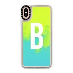 CASETiFY iPhone XS Max Case - Neon Sand Liquid Case (B) by | Casetify