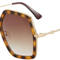 Oversized Fashion Sunglasses For Women Hexagon Inspired Brand Designer Style   Amazon (US)