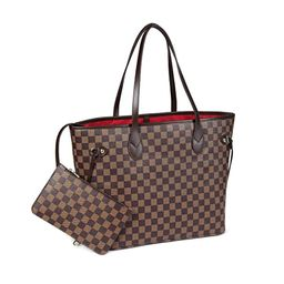 Daisy Rose Checkered Tote Shoulder Bag with inner pouch - PU Vegan Leather   Amazon (US)