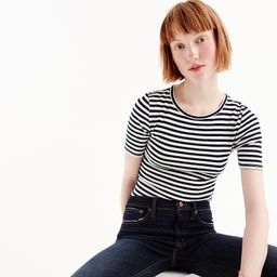 Slim perfect T-shirt in stripe | J.Crew US
