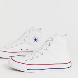 Converse – Chuck Taylor All Star – Hohe Sneaker in Weiß | ASOS DE
