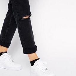 Nike Air Force 1'07 sneakers in white | ASOS US