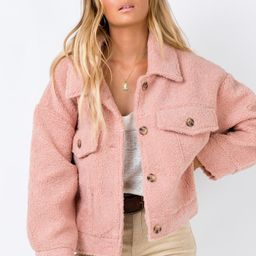 The Heritage Jacket Blush | Princess Polly