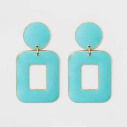 SUGARFIX by BaubleBar Rectangular Drop Earrings | Target