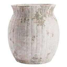 Weathered White Stone Vases | Pottery Barn (US)