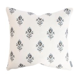 Addison Block Print Pillow Cover   McGee & Co.