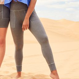 Aerie Chill Ribbed Pocket Legging | American Eagle Outfitters (US & CA)