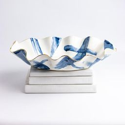 MADE TO ORDER Limited edition Juliette Brushstroke wavy shaped handmade ceramic bowl with 22K gol...   Etsy (CAD)