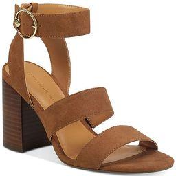 Tommy Hilfiger Sentri Strappy Sandals & Reviews - Sandals & Flip Flops - Shoes - Macy's | Macys (US)