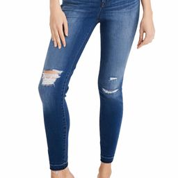 Ripped 10-Inch High Waist Crop Skinny Jeans | Nordstrom
