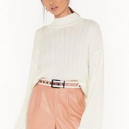Knit's About to Go Down Ribbed Sweater | NastyGal (US & CA)