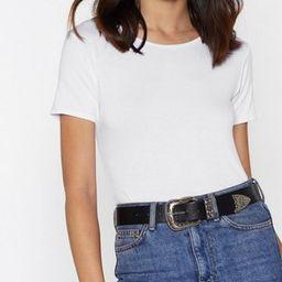 San Antonio Faux Leather Belt | NastyGal (US & CA)