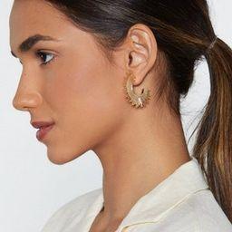 Pocket Full of Sunshine Half Hoop Earrings | NastyGal (US & CA)