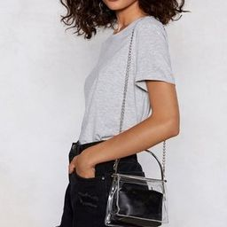 WANT Clear As Day Shoulder Bag | NastyGal (US & CA)