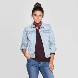 Women's Essential Freeborn Denim Jacket - Universal Thread™ Blue | Target