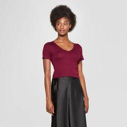 Women's Regular Fit Short Sleeve V-Neck T-Shirt - A New Day™ | Target