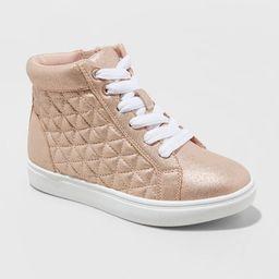 Girls' Meagan Hightop Sneakers - Cat & Jack™ | Target