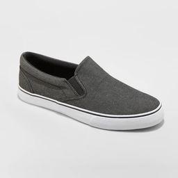 Men's Phillip Sneakers - Goodfellow & Co™ Charcoal | Target