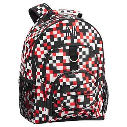 Gear-Up Pixel Red/Gray Backpack   Pottery Barn Teen