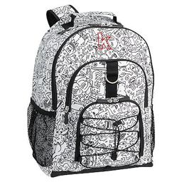 Keith Haring Gear-Up Backpack   Pottery Barn Teen