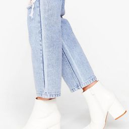 White Here Ankle Boots | NastyGal (UK, IE)