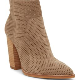 Cava Perforated Pointy Toe Boot   Nordstrom