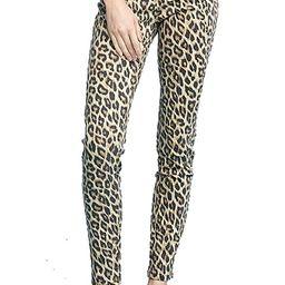 Judy Blue Roar of The Wild! Leopard Print 5 Pocket Skinny Denim | Amazon (US)