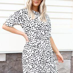 Charlotte Spotted Ruffle Dress | Dress Up