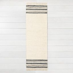 Jute Rug Charcoal Stripe - Hearth & Hand™ with Magnolia | Target