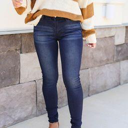 Serena Mid-Rise Skinny Jeans   Dress Up