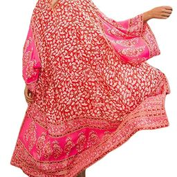 Bsubseach Womens Chiffon/Rayon Beach Blouses Kimono Cardigan Long Bikini Cover Up | Amazon (US)