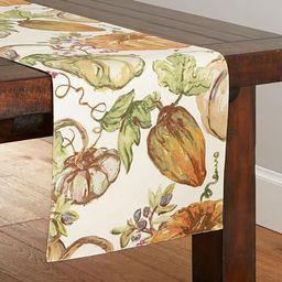 Harvest Pumpkin Table Runner | Pottery Barn (US)
