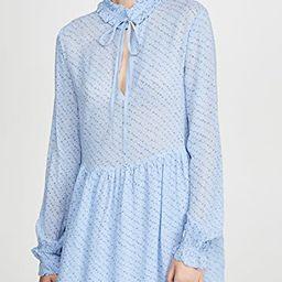Printed Georgette Dress   Shopbop