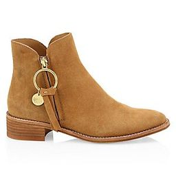 Louise Suede Flat Boots   Saks Fifth Avenue