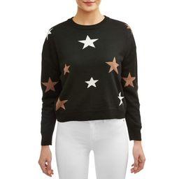 Women's Star Print Sweater   Walmart (US)