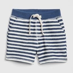 Baby Stripe Pull-On Shorts In Stretch Jersey | Gap US